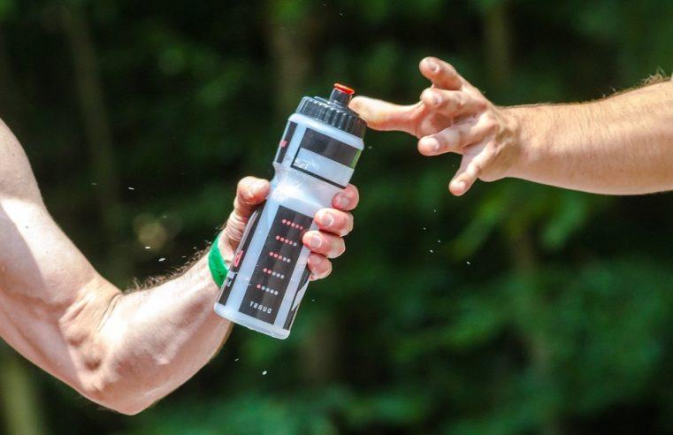 gourde pour sportif évitant le problème d'hydratation